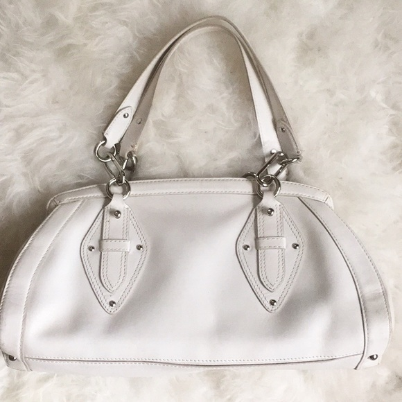 Cole Haan Handbags - Cole Haan trinity white leather satchel